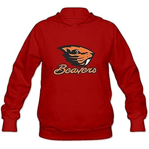 Sweetheart Retro Long Sleeve NCAA Oregon State Beavers Logo Long Sleeve T Shirt XXXX-L