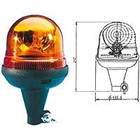 Luces rotativas giratorias modelo Vega flexible con fijación standard ISO A reglamento 65