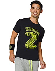 Zumba Fitness Mashed Up Graphic T-Shirt Homme Back to