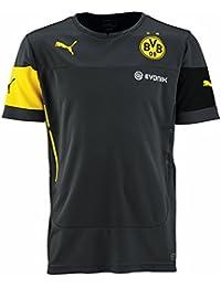 Puma T-Shirt BVB Training Jersey with Sponsor - Camiseta camisa deportiva  para niño f364e0384fac2