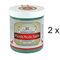 Apothekers Original Perde Medic Salbe 2er Set (2 x 600 ml) Sparset. Für Perde entwickelt - für Menschen entdeckt... preisvergleich bei billige-tabletten.eu