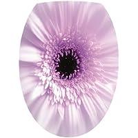 Sticker Autocollant Abattant WC Nature Fleur ref 804