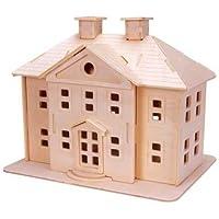 Comparador de precios Puzzled Country Mansion 3D Natural Wood Puzzle by Puzzled - precios baratos