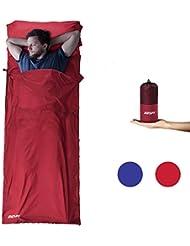 OUSPT Saco de Dormir, Bolsa de Dormir Ultraligero Multifunción Aislamiento Plegable Material Suavidad para Camping