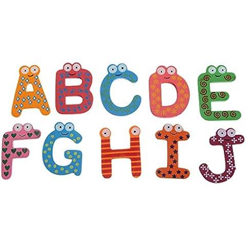 EOZY Magnético Cartas Para Niños Alfabeto Imanes 26 Nevera Ortografía