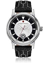 Chrono Diamond 82069_weiß-43 mm - Reloj , correa de cuero color negro