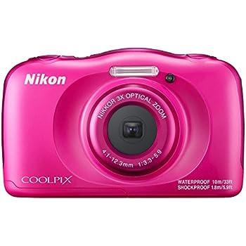 "Nikon COOLPIX W100 Kit Fotocamera compatta 13,2 MP 1/3.1"" CMOS 4160 x 3120 Pixel Rosa"