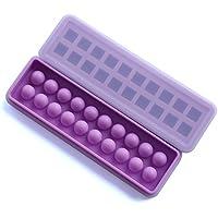 (Set di 2) in silicone per cubetti di ghiaccio, per cubetti di ghiaccio in silicone, Lego ghiaccio stampo in silicone per cubetti di ghiaccio