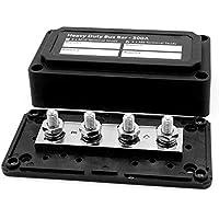 Stromverteiler/Verteilerbox für 4 Stromschienen, 300 A, modulares Box-Design, einfache Verkabelung