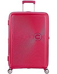 AMERICAN TOURISTER Soundbox - Spinner 67/24 Expandable Equipaje de mano, 67 cm, 71.5 liters, Rosa (Lightning Pink)
