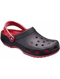 Crocs Unisex Adult Classic Carbon Graphic Clg Red