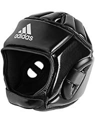 adidas–Casco artes marciales y deportes de combate–adibhg051, negro
