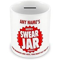 Personalised Swear Jar Money Box 104 Birthday Christmas Son Daughter Niece Nephew Mum Dad Gift Idea
