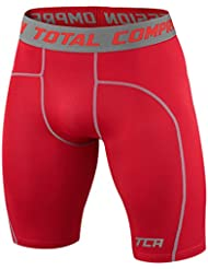 Mens & Boys TCA Pro Performance Compression Base Layer Thermal Under Shorts