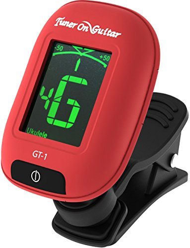 Tuner On Guitar Guitar Tuner Clip On, Tune Acoustic amp; Electric Guitars, Bass, Ukulele and Violin, Easy to Use, Accurate, Fast, Turn 360 Degrees, Chromatic, Electronic, Enhance Your Tuning Experience Now!