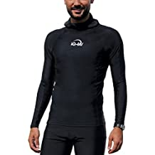 iQ-Company Herren UV Kleidung 300 Hooded-Shirt Long Sleeve