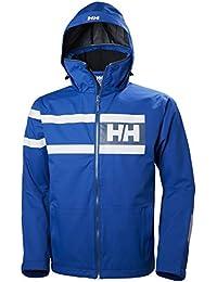 Helly Hansen Salt Power Chaqueta, Hombre, Azul, Large (Tamaño del Fabricante:L)