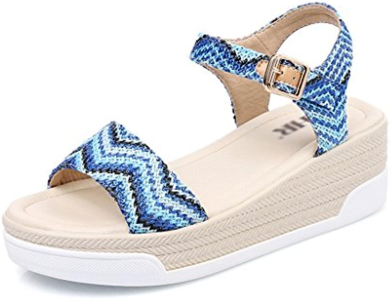 bao xing bei entreprise bohemian wedge sandales sandales sandales / sandales / les chaussures à plate forme / souliers / talons (taille: 39) b07czgr5fp parent | Des Matériaux Supérieurs  7a42f3