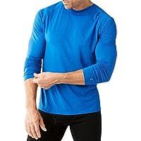 SmartWool Merino 150 Long Sleeved Capa de Base, Hombre, Azul Claro, Small