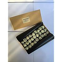 """Frigolet Chocolats Chardons""""Blancs"""" authentiques à la Liqueur Frigolet l'Elixir du Révérend Père Gaucher de l'Abbaye de Saint Michel de Frigolet boîte de 350 gr"""
