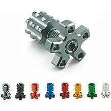 Heinmo - Cable de Freno Universal para Motocicleta M8 CNC con Ajuste de Alambre para la