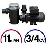 Pompe filtration piscine - 3/4CV Mono 11m³/H - Poolstyle