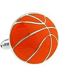 Deportes Baloncesto gemelos de plata pintura Plating Gemelos