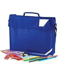 JUNIOR BOOK BAG SCHOOL BAG WITH STRAP - 5 COLOURS