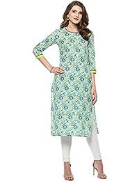 Janasya Women's Cotton Kurta