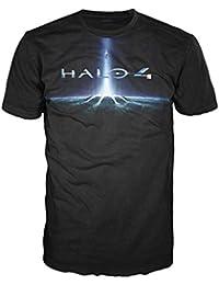 HALO - T-Shirt Mec - Black Cover 4 - Noir