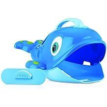 Nuby ID6137 - Ballena recoge juguetes de baño