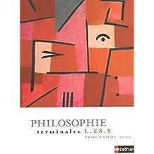 Philosophie, terminales L-ES-S