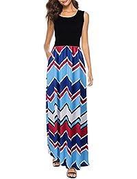 9f29259a5dd Amazon.fr   robe taille empire - Longue   Robes   Femme   Vêtements