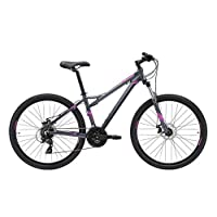 REID Girl's S Escape WSD 1.0 Mountain Bike - Grey/Purple, 130 x 40 x 20