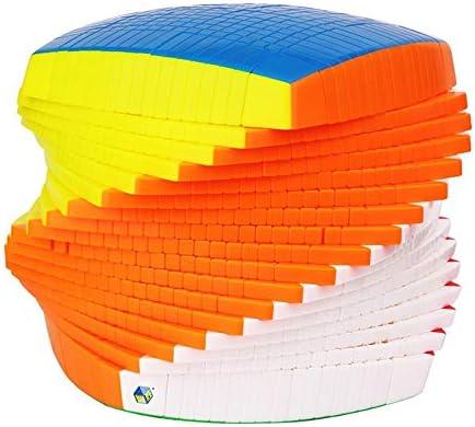 Dix-Septième-ComFemmedez Le Jouet De Cube, Haut-Ordre Lisse Anti-POP17 Speed Speed Speed Cube 17X17x17 ee2142