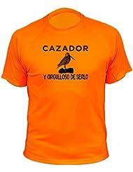 Camiseta de caza Cazador y orgulloso de serlo - Ideas regalos - Becada