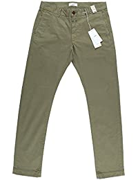 Closed Herren Clifton Slim Brushed Chino Vintage Green