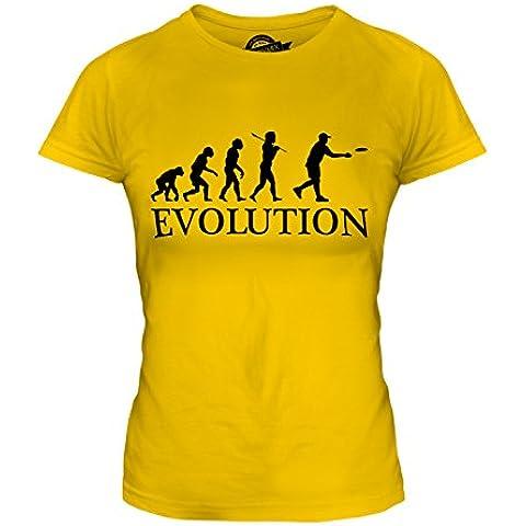 CandyMix Frisbee Evoluzione Umana T-Shirt da Donna