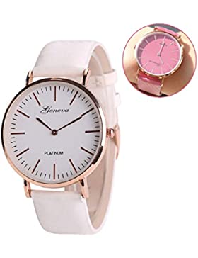 Frauen Stilvolle Uhr Solar aktiviert Farbwechsel Gurt Chameleon Band Fashion Elegantes Armband Quarz Armbanduhr