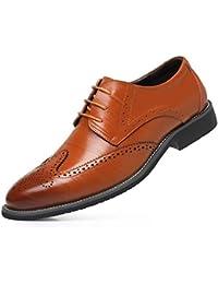 Männer Kleid Büro Schuhe Formal Business Split Leder Breathable Bequeme  Schuhe (Farbe   Gold, c8c7697aa7