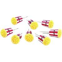 Soportes para mazorcas de maíz CC5156 de Charcoal Companion - Multicolor (Set de 4)