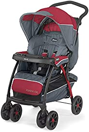 Chicco Cortina CX Stroller (Lava), Strollers for newborn babies and toddlers, 0-4 years, Pram for boys and gir