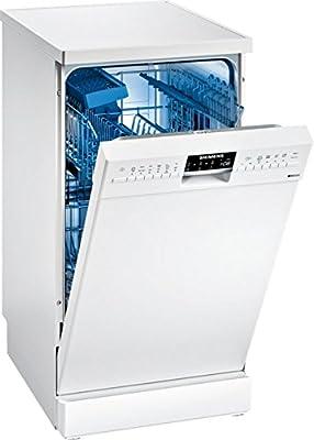 Siemens iQ500 SR256W00PE lavavajilla Independiente 9 cubiertos A++ - Lavavajillas (Independiente, Estrecho (45 cm), Blanco, Blanco, Botones, 1,75 m)