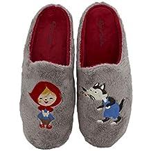 Garzón - Zapatillas de Casa para niña Caperucita