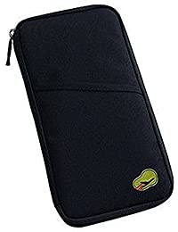 Shopo's Travel Long Passport Holder Wallet Case For Credit Debit Card Ticket Coins Money Cash Currency Boarding Pass Pen
