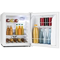 Klarstein MKS-8 • Minibar • Mini nevera • Nevera para bebidas • Clase A • 40 Litros • Silenciosa • <30 dB • 43 x 51 x 48 cm (An x Al x Pr) • Temperatura 3 niveles • Exterior blanco mate • Blanco