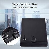 Caja Fuerte portátil de Keyprint de la Caja de la Huella Dactilar para el Efectivo de la joyería de los Objetos de Valor