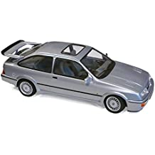 Norev 1:18 1986 Ford Sierra RS Cosworth LHD – Gris metálico – NV182770