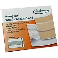 weroplast-Wundschnellverband elastisch 1mx8cm preisvergleich bei billige-tabletten.eu