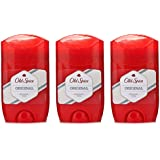 Old Spice TRES Paquetes De Desodorante Original en Barra